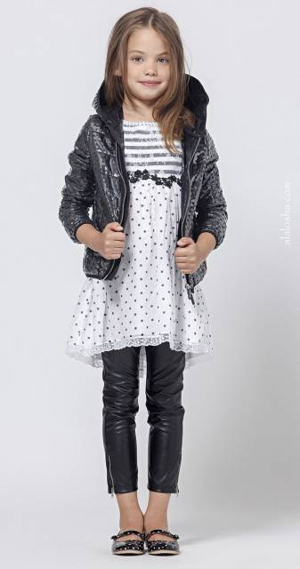 look infantil feminino para a moda inverno