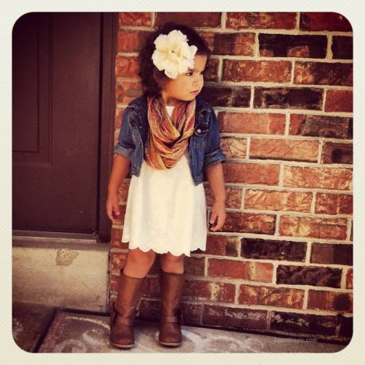 look infantil feminino moda country infantil