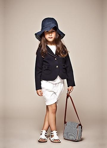 look infantil feminino com short e casaco