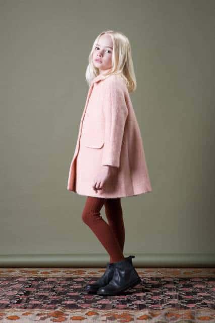 look infantil feminino com legging e casaco longo