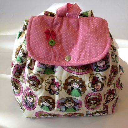 mochila de tecido