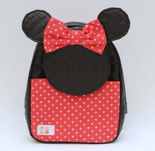 mochila Minnie Vermelha