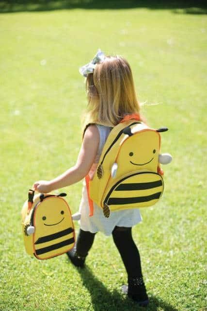 mochila abelha