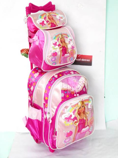 kit mochila da Barbie