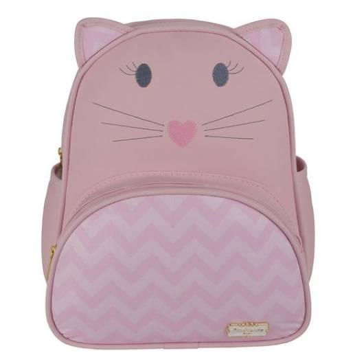 mochila rosa gatinho