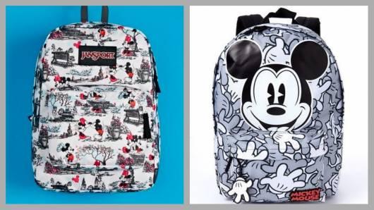 Mochilas do Mickey.