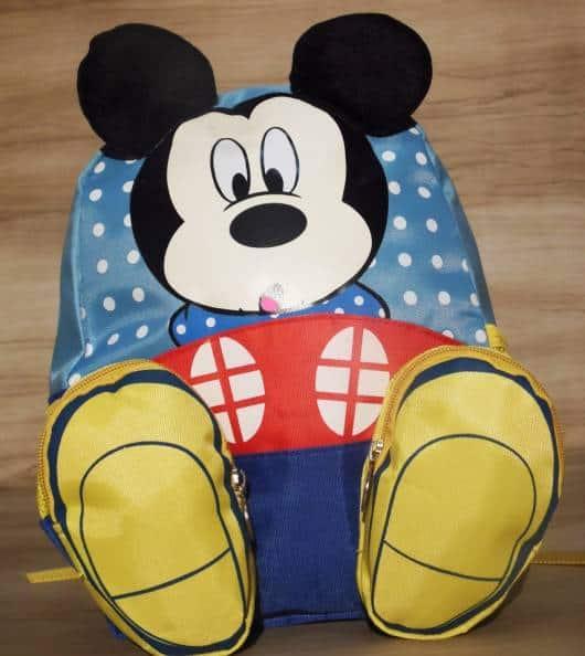 Mochila Mickey Mouse.