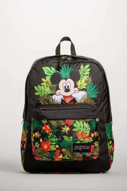 Mochila Mickey verde.
