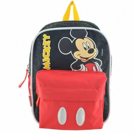 Mochila Preta Mickey.