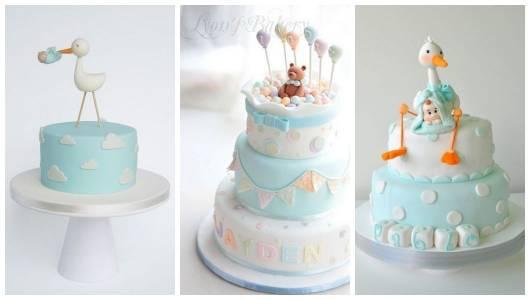 Três bolos diferentes.