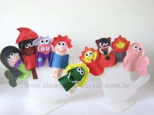 Brinquedos Folclóricos dedoches