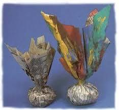 Brinquedos Folclóricos peteca de papel