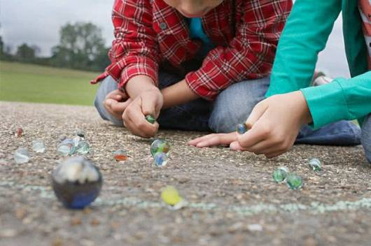 Brinquedos Folclóricos bolinha de gude