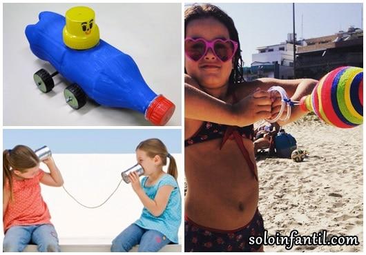 Brinquedos Folclóricos com sucata telefone sem fio