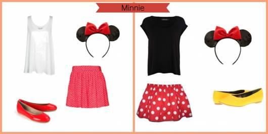 Dica de fantasia de Minnie