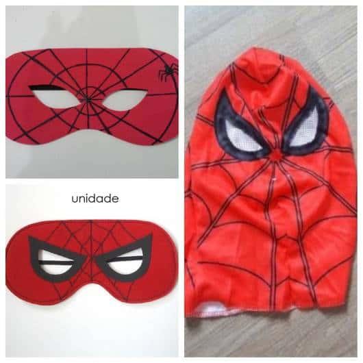 mascaras de homem-aranha