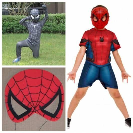 Máscaras de homem-aranha