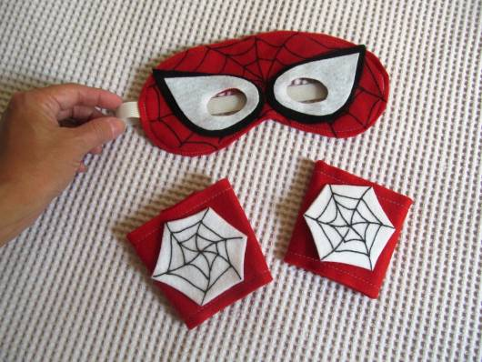 Modelo de máscara de homem-aranha de EVA