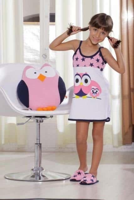 Pijama de menina de verão