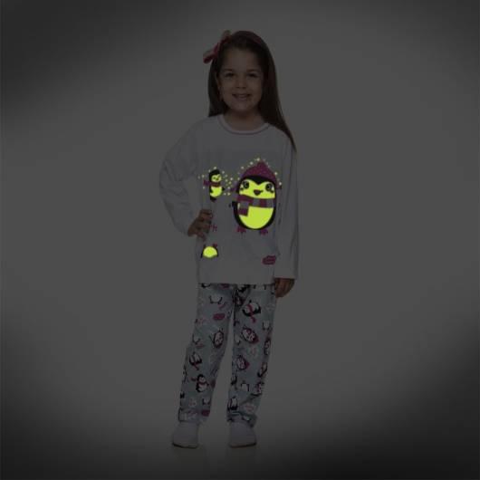 pijama que brilha no escuro