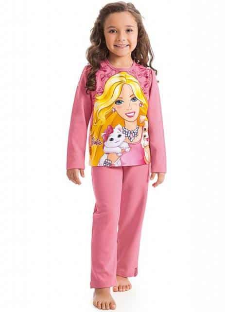 pijama da Barbie