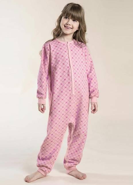 Existem macacões pijamas para meninas de todas as idades