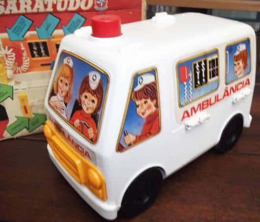 Brinquedos Antigos Dr. Saratudo