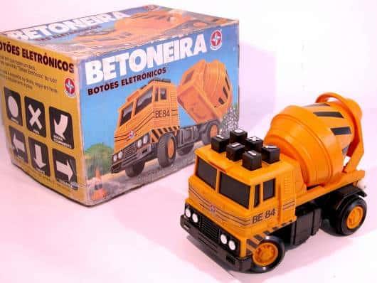 Brinquedos Antigos betoneira