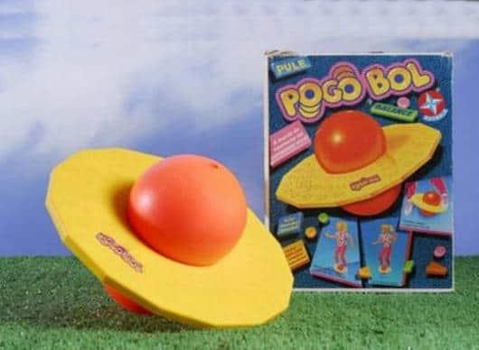 Brinquedos Antigos pogo bol