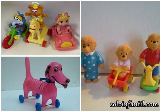 Brinquedos Antigos bonequinhos