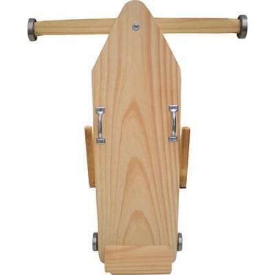 Brinquedos Antigos de madeira carrinho de rolemã