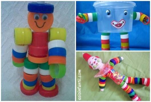 brinquedos com tampinhas