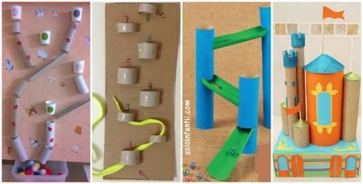 ideias com rolo de papel higiênico