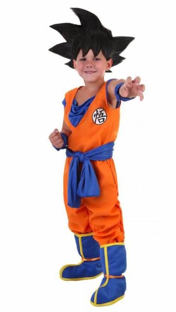 Fantasia Infantil masculina Dragon Ball Z.