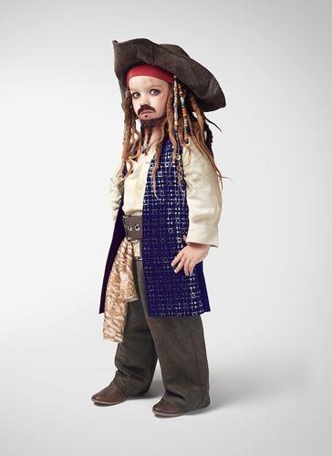 Fantasia de Jack Sparrow.