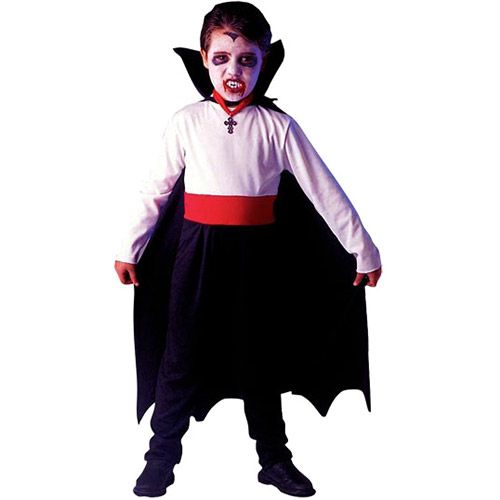 fantasia infantil masculina de vampiro.