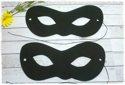 máscara Ladybug cat noir de eva