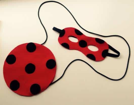 máscara Ladybug eva