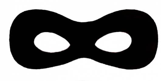molde máscara Ladybug cat noir