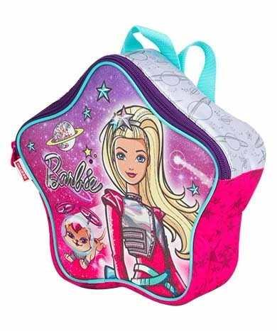 Mochila da Barbie modelo Aventura nas estrelas no formato de estrela