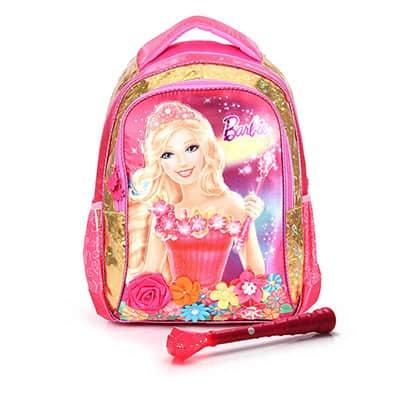 Mochila da Barbie modelo Portal Secreto de costas