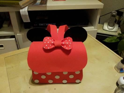 mochila de EVA da Minnie