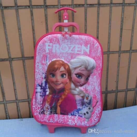 mochila de rodinhas rosa
