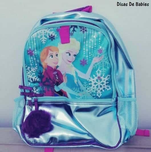 modelo azul Anna e Elsa