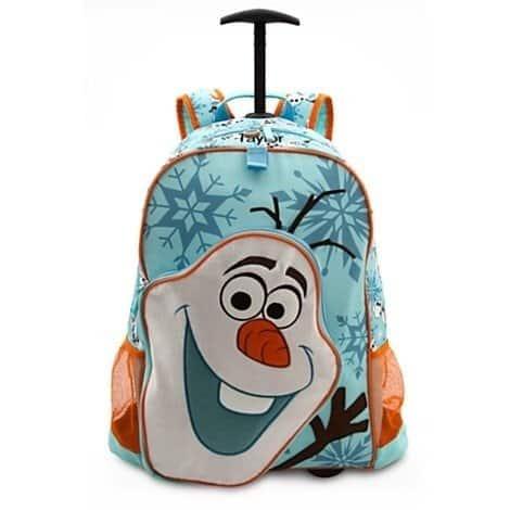 mochila Olaf de carrinho