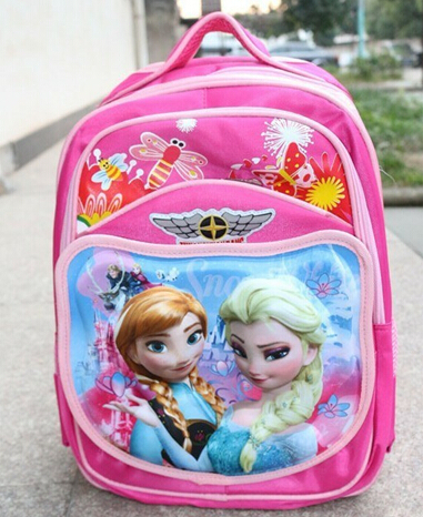 mochila de costas pink