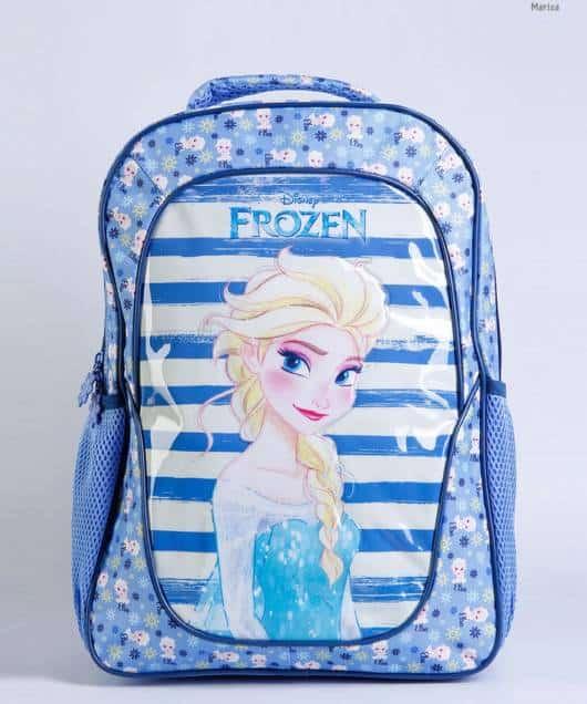 mochila azul Elsa