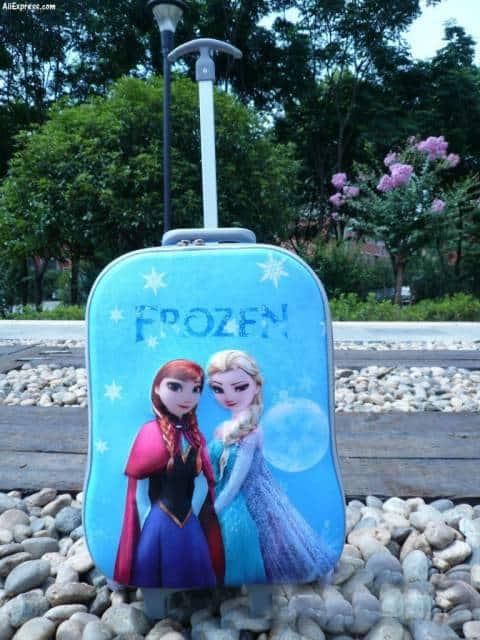 mochila 3D azul
