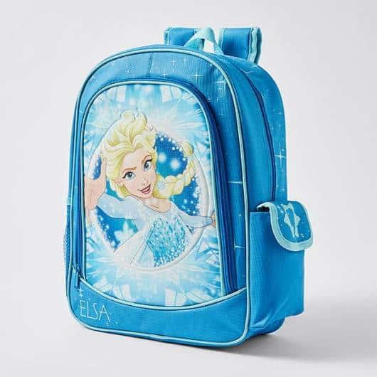 mochila de costas azul