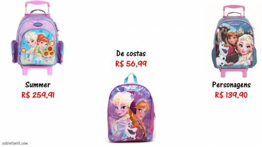 preço mochila infantil